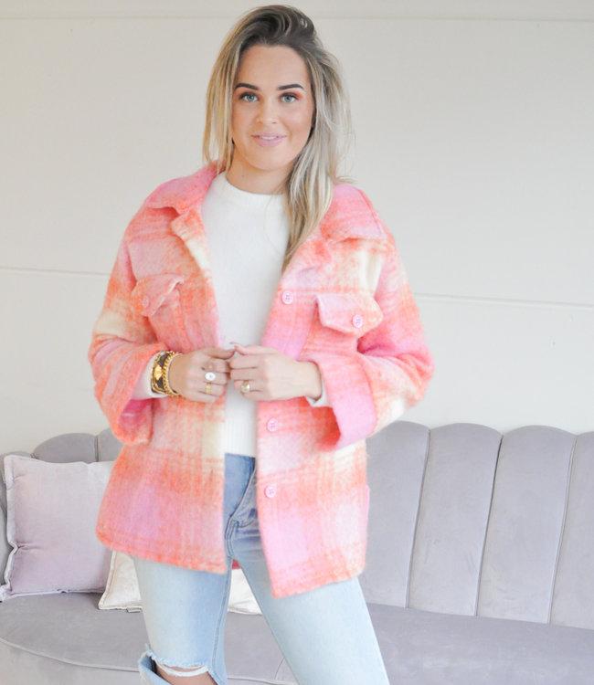 TESS V Kiana jacket pink