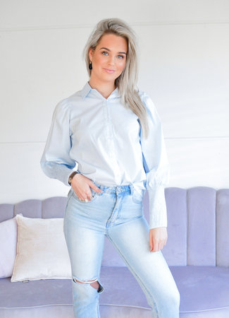 TESS V Maddie blouse blue