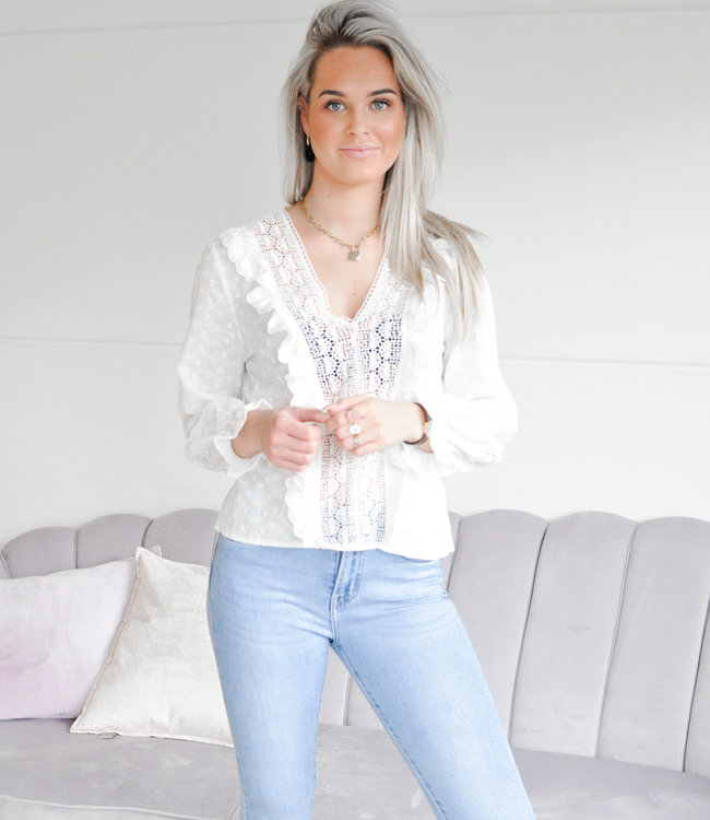 TESS V Tessie blouse white