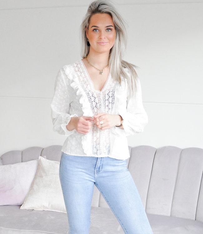 Tessie blouse white