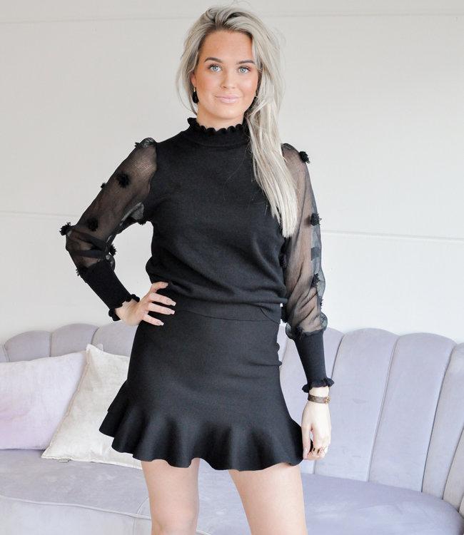 Claartje skirt black