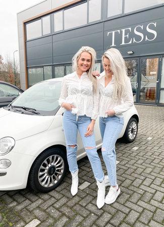 TESS V Polly blouse white