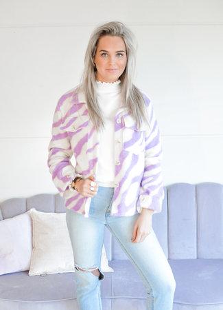 TESS V Dana jacket lila