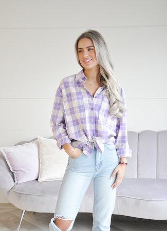 TESS V Anouk blouse lila
