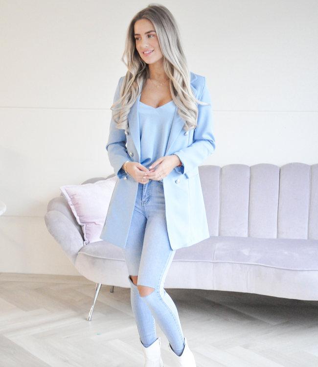 Olivia blazer blue