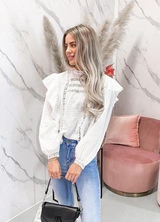TESS V Favie blouse white