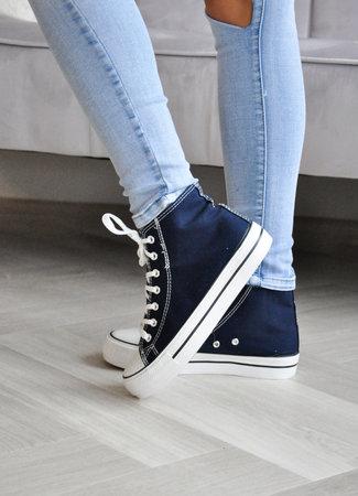 TESS V Lana sneakers navy