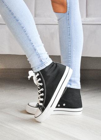TESS V Lana sneakers black