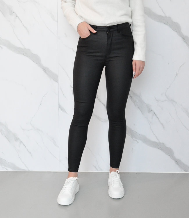 Evie leather pants