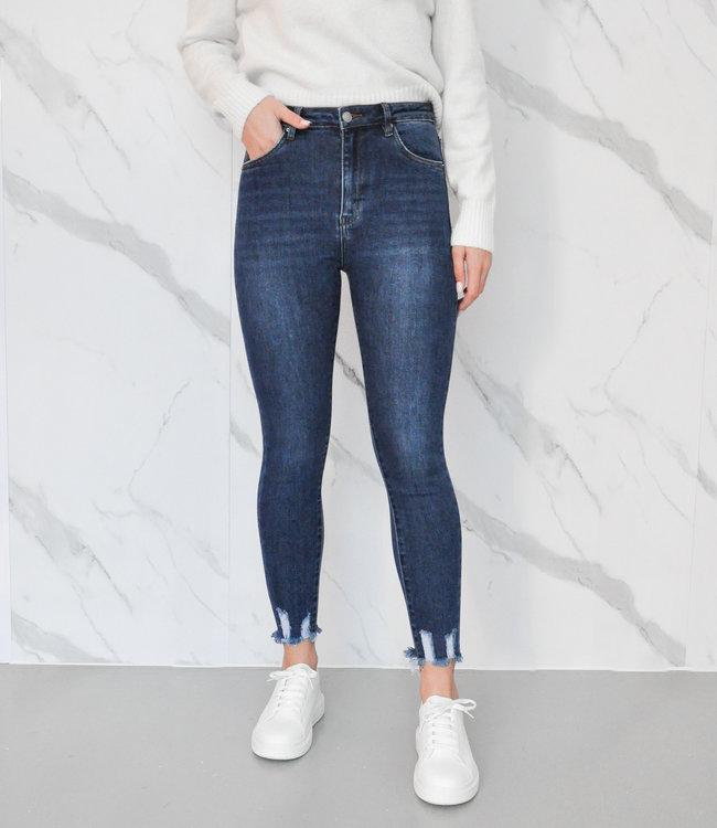Moon jeans dark blue