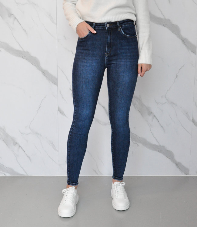 MISS Selena jeans dark blue