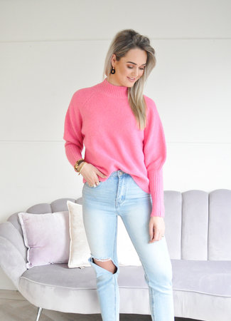 TESS V Isabelle sweater fuchsia