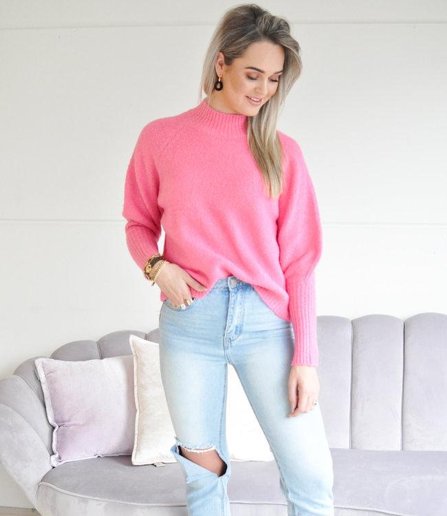 Isabelle sweater fuchsia