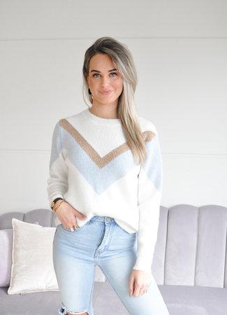 TESS V Alida knit blue
