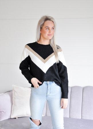 TESS V Alida knit black