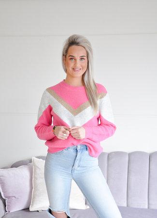 TESS V Alida knit pink