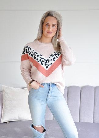 TESS V Bayli sweater pink