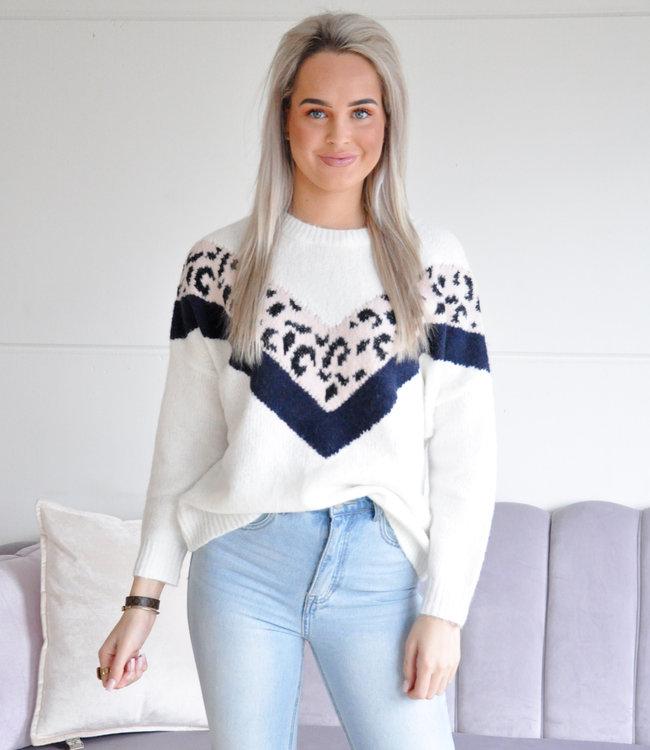 Bayli sweater white