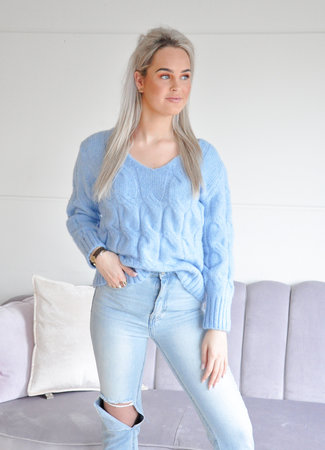 Esmee knit blue