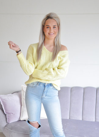 Esmee knit yellow