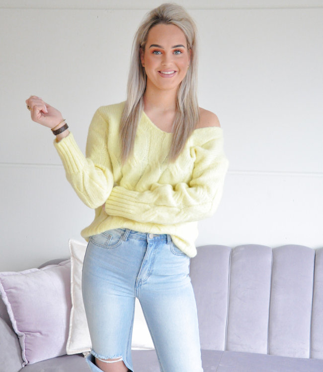 Esmee knit yellow