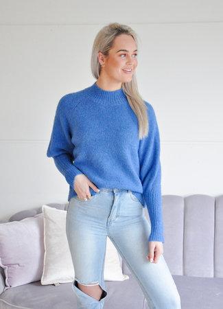 TESS V Isabelle sweater kobalt blue
