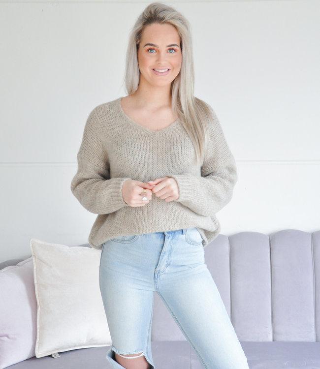 Tara sweater beige