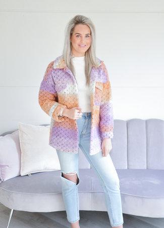 TESS V Rainbow jacket
