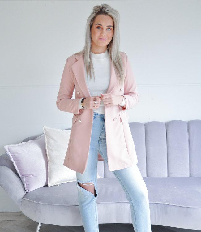 Olivia blazer pink