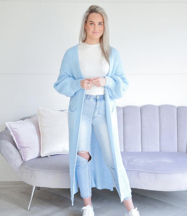Quinty vest light blue