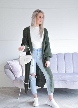 TESS V Quinty vest green