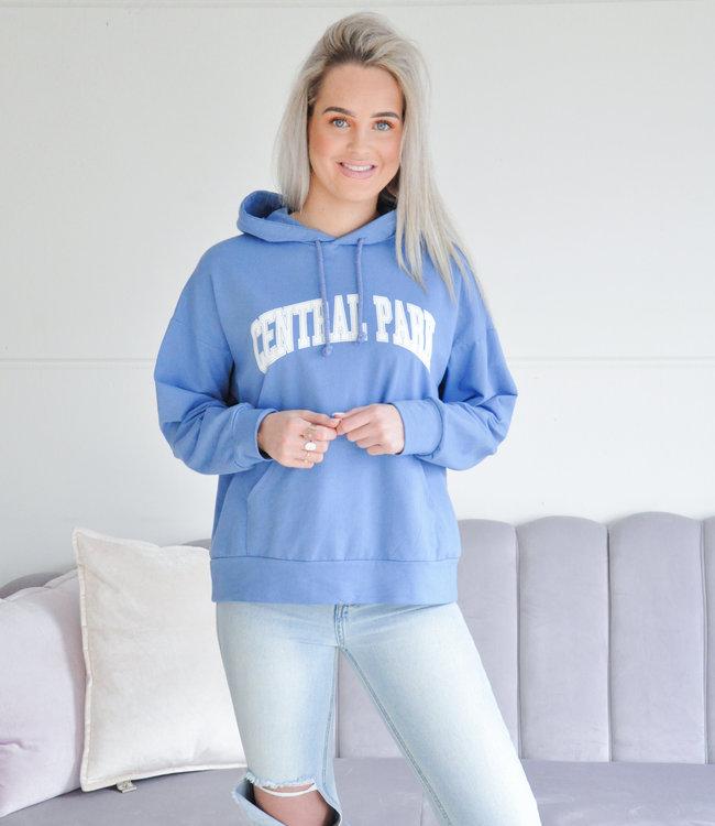 Park hoodie blue