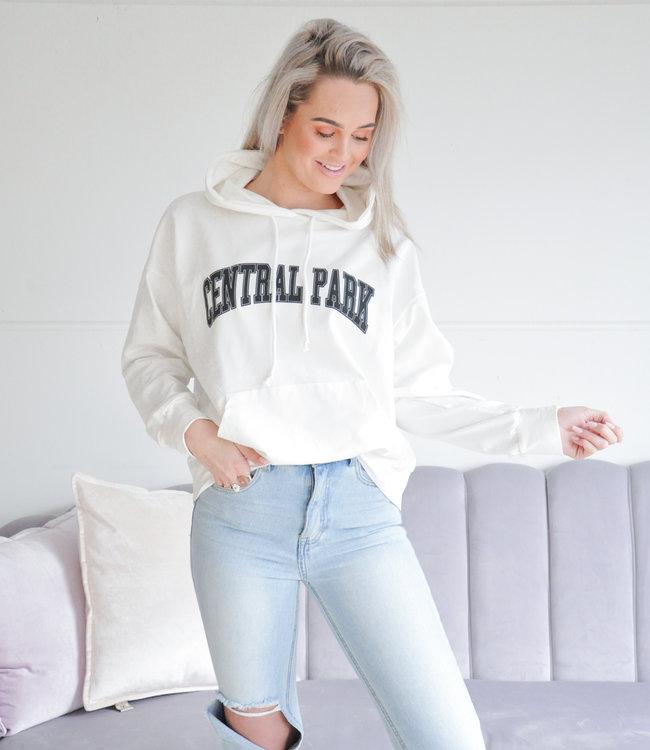 Park hoodie white