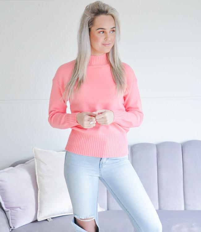 Nicolie sweater pink