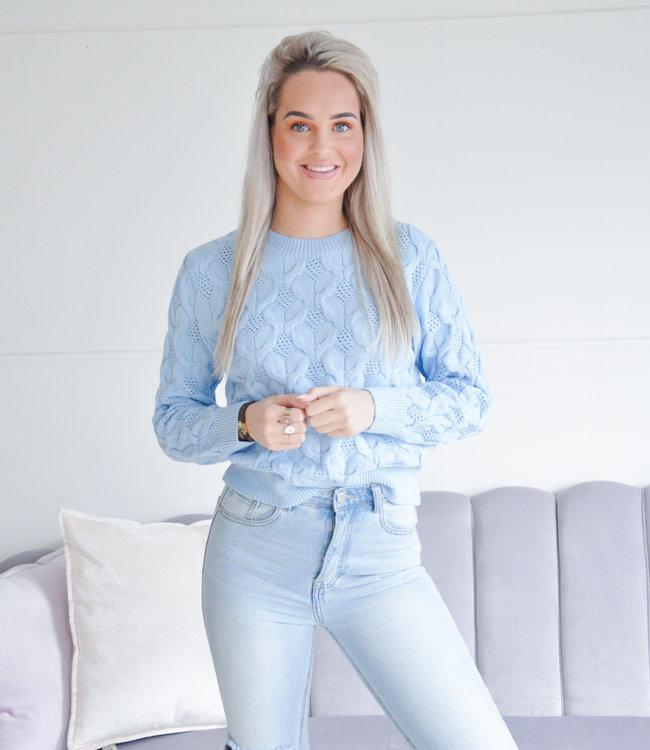 Maxie sweater blue