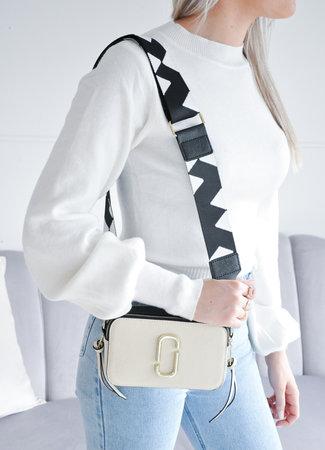 TESS V Iva bag beige black