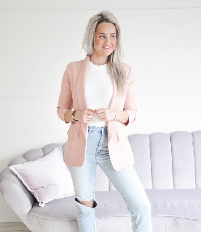 Romy blazer pink