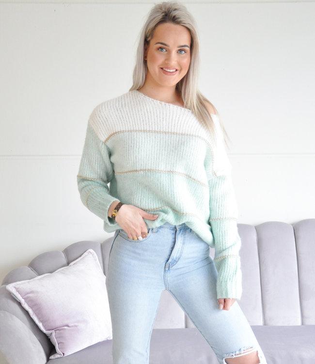 Jiya sweater green