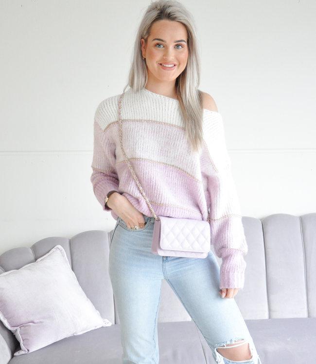 Jiya sweater lila