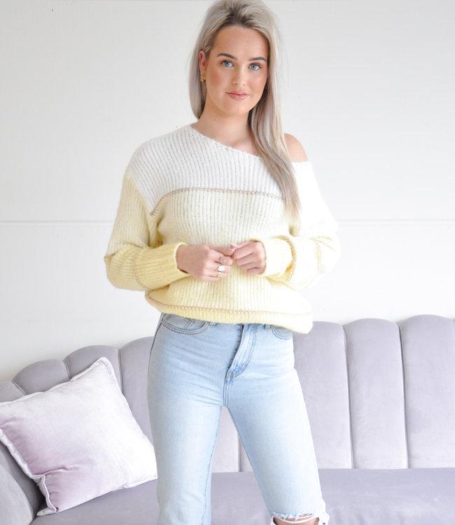 Jiya sweater yellow