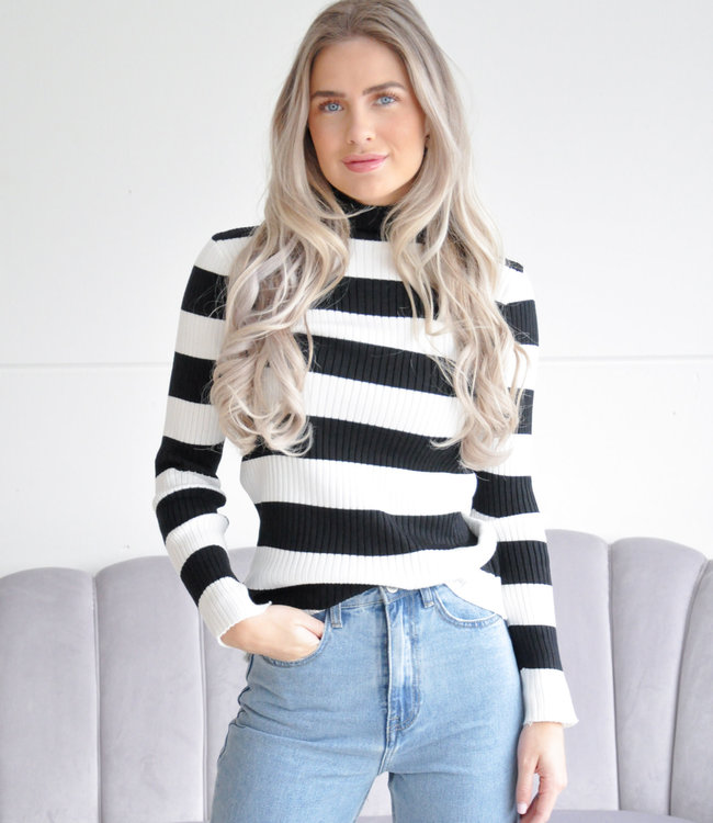 Joyce top stripe