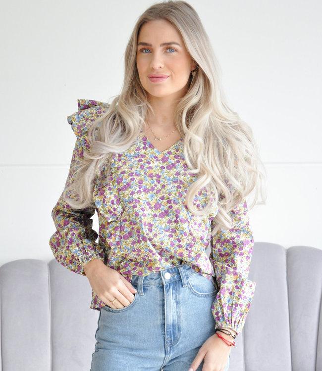 Naomie blouse lila