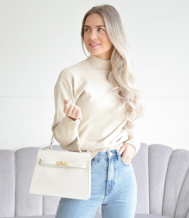 Nicolie sweater beige