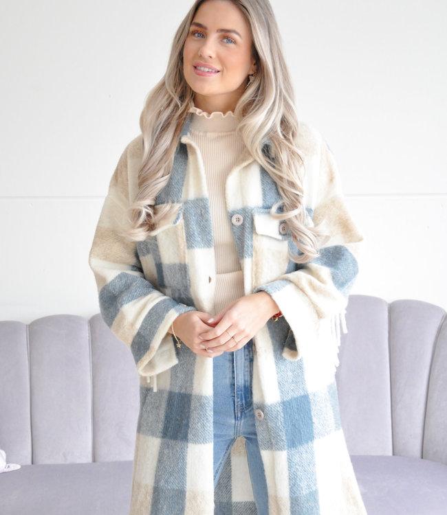 Nina jacket blue
