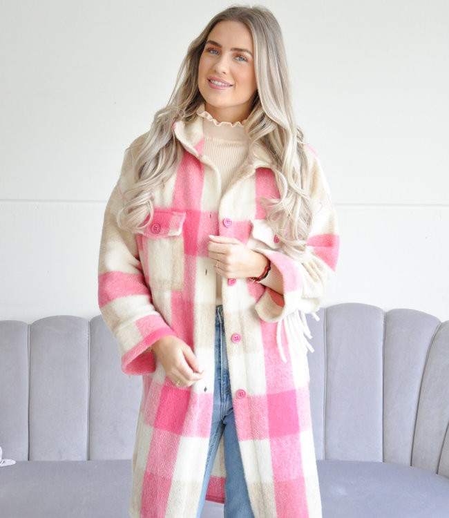 Nina jacket pink