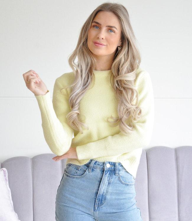 Pam sweater yellow