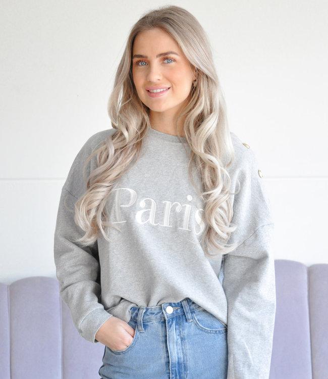 Paris sweater grey