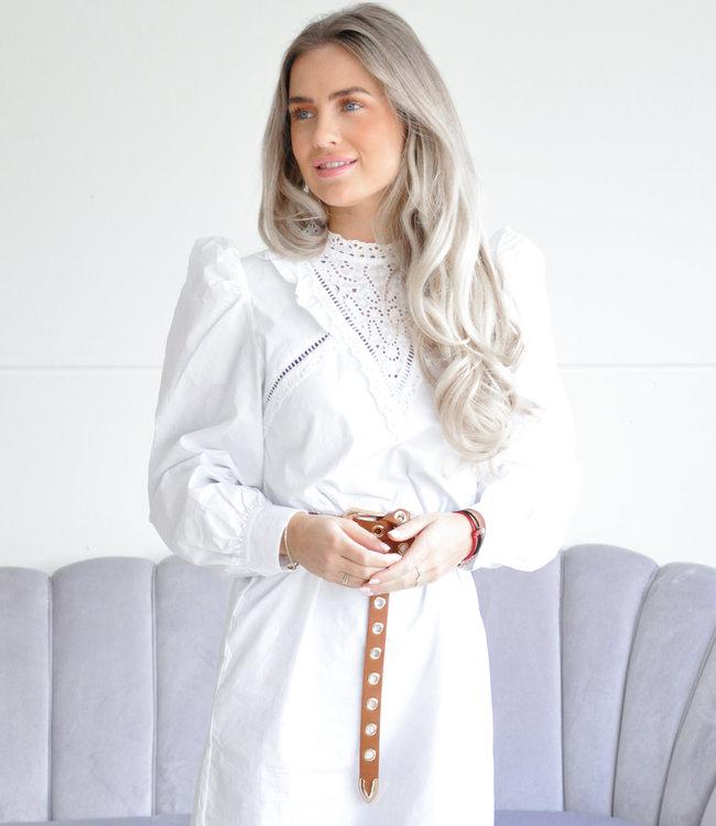 Sia dress white