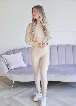 Jade comfy set beige