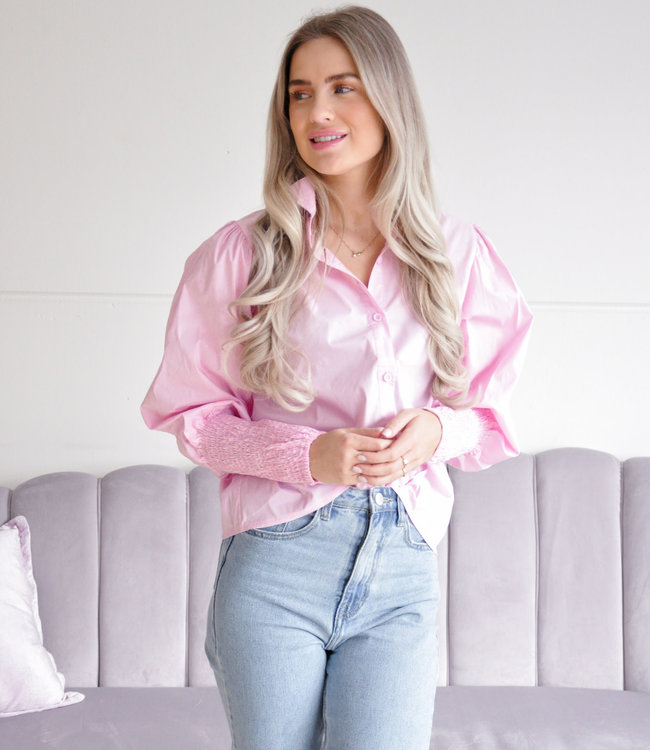 Maddie blouse pink